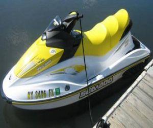 2006 Seadoo GTI waverunner side profile