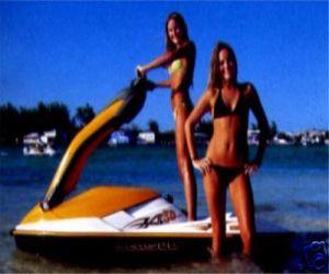 2006 Sea Doo 3D Premium Waverunner Jetski left side