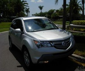Acura  on 2007 Acura Mdx Suv 4x4 Right Front