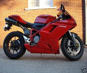 2007 Ducati Superbike right side