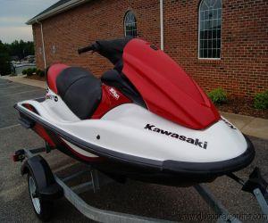 2007 Kawasaki Stx 12F front