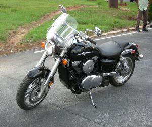 2007 Kawasaki Vulcan left front