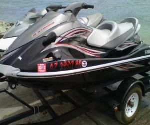 2007 Yamaha VX cruiser side