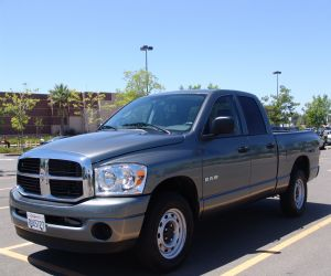 2008 Dodge Ram 1500 left front