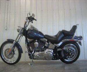 2008 Harley Davidson Softail left side