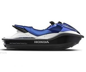 2008 Honda Aqua Trax 1500 turbo Blue and silver jetski