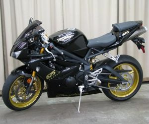 2008 Triumph Daytona 675 left side
