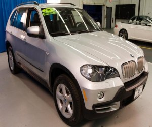 2009 BMW SUV 35d right front