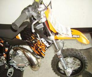 2009 KTM SX JR front