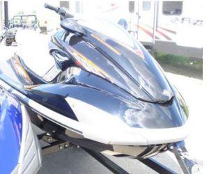 2009 Yamaha FZS SHO front