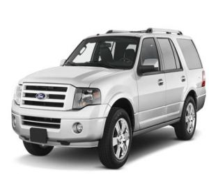 2011 Ford Expedition front