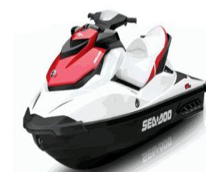 2011 Sea Doo GTS 130 front