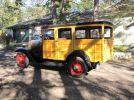 1932 Ford Model B station wagon side of rear