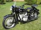 1959 BMW R Series left front