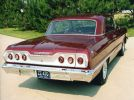 63 Chevrolet Impala super sport 409 rear