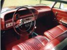 1963 Chevrolet Impala super sport 409 interior