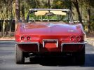 1966 Chevrolet Corvette convertible rear