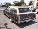 74 Cadillac Fleetwood rear