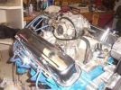 76 Pontiac Firebird engine
