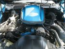 79 Pontiac Trans AM engine