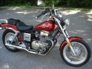 1987 HONDA REBEL CMX450 CRUISER right side