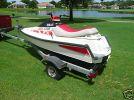 1990 YAMAHA WR500 left rear