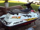 1997 Polaris SLX pro 785 rear