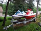 1997 Tigershark Monte Carlo 770 Wave Runner With Trailer