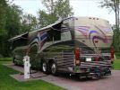 1998 Prevost Country Coach motorhome rear