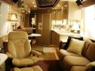 1998 Prevost Country Coach motor home living room