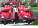 1999 seadoo GSX jet skis rear