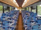 2001 MCI E4500 interior