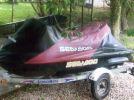 2003 SeeDoo GTX DI covered jetski