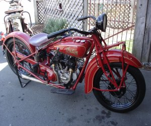 Image of a 1941 Indian Scout 101