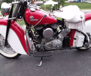 Image of a 1946 Indian chief