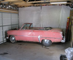 Image of a 1954 Plymouth CONVERTIBLE