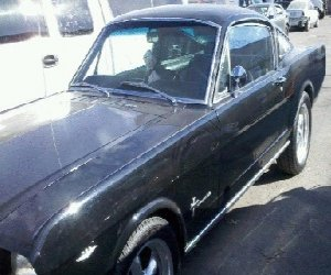Image of a 1965 Ford FASTBACK