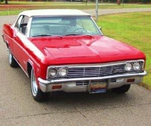 Image of a 1966 Chevrolet Impala SS