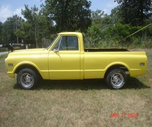 Image of a 1968 Chevrolet c10