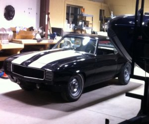 Image of a 1969 Chevrolet camaro