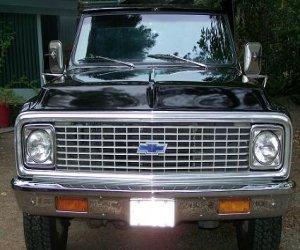 Image of a 1972 Chevrolet Cheyenne K20