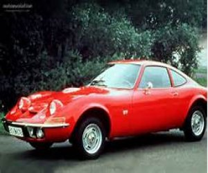 Image of a 1973 Opel 2 door 4 cylinder