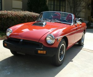 Image of a 1977 Powered by Ford MGB Ford Motor