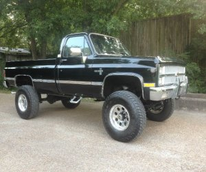 Image of a 1981 Chevrolet K30
