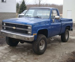 Image of a 1982 Chevrolet K10