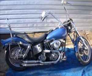 Image of a 1982 Harley Davidson Shovelhead Superglide