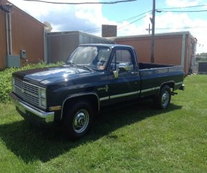 Image of a 1983 Chevrolet C20