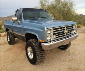 Image of a 1983 Chevrolet K10