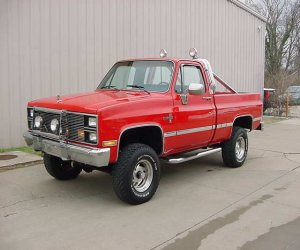 Image of a 1984 Chevrolet K10