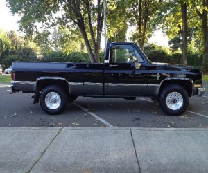 Image of a 1985 Chevrolet CK Pickup 2500